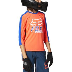Fox Ranger Dri-Release 3/4 Jersey Youth, naranja